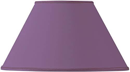 Klosz lampy w kształcie wiktoriańskim, średnica 25 x 11 x 15 cm, fioletowy