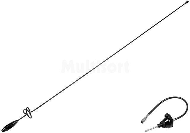 Antena prętowa 0,778m AM, FM 0,3m montowana na karoserii