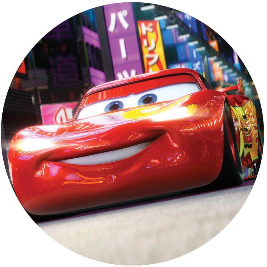 Dekoracyjny opłatek tortowy Cars - 20 cm