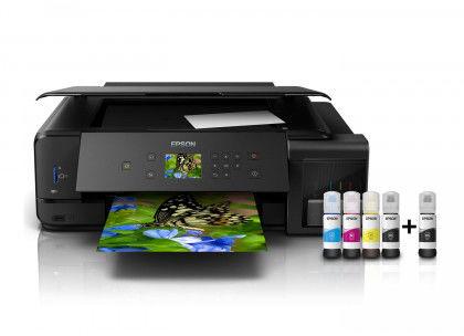 Urządzenie wielofunkcyjne EPSON EcoTank L7180 (drukowanie: A3, kopiowanie, skanowanie: A4) (C11CG16402)