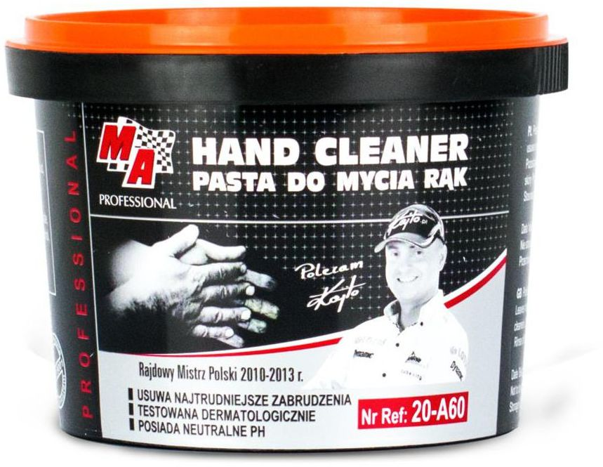 Pasta BHP do mycia rąk 500 g MOJE AUTO 20-A60