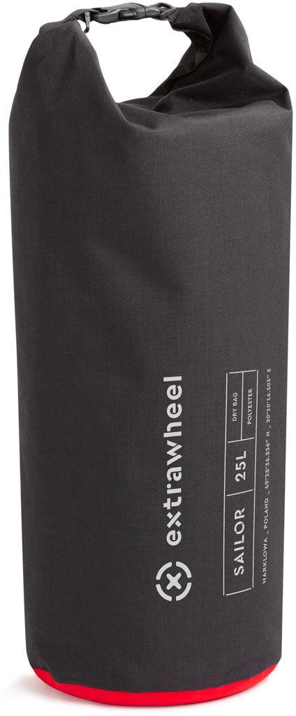 EXTRAWHEEL wodoodporny worek sailor 25l polyester czarny E0071,5903332562749