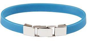 Niebieska bransoletka silikonowa 611-14