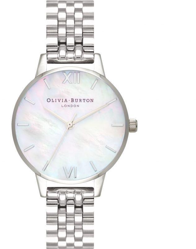 Zegarek damski Olivia Burton Mother Of Pearl Bracelet OB16MOP02