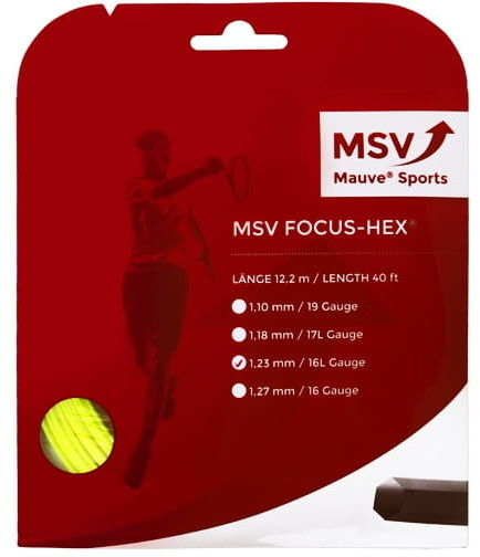 MSV Focus Hex (12,2m) - yellow FH-SET-YW