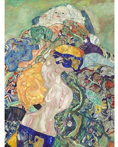 Wee Blue Coo Klimt Baby 1917 plakat, nieoprawiony, 30,5 x 40,6 cm
