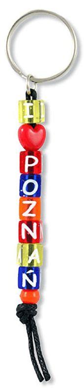Brelok kostki napis Poznań