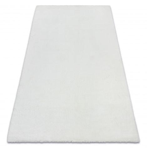 Dywan BUNNY biały IMITACJA FUTRA KRÓLIKA 60x100 cm