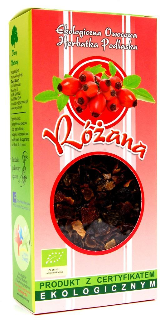 Herbatka różana bio 100 g - dary natury