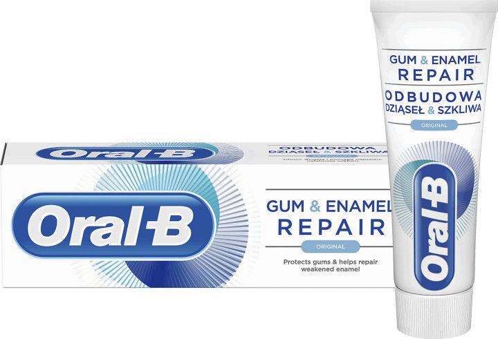 Oral B Gum & Enamel Repair Original pasta do zębów wzmacniająca szkliwo 75 ml
