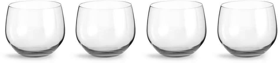 Sagaform - interiör - szklanki spectra - 4 szt. - 350 ml - przeźroczyste