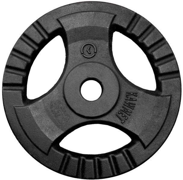 Obciążenie żeliwne do sztangi grafitowe (30,5 mm) 20 kg