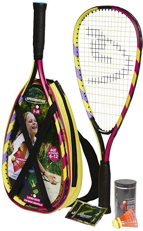 Speedminton Zestaw do badmintona dla dzieci, rozmiar uniwersalny