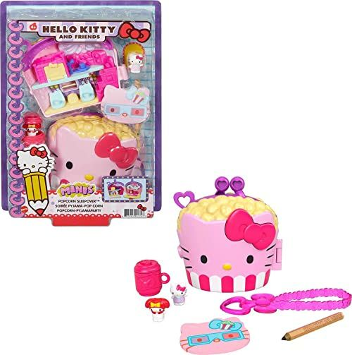 Mattel - Hello Kitty and Friends Popcorn Sleepover Compact (Sanrio)
