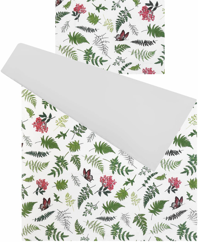 Pościel do łóżeczka 100% bawełna 2 el. listki