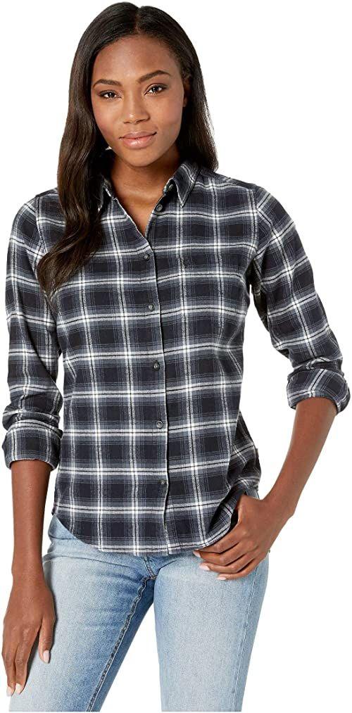 Fjallraven damska koszulka flanelowa Övik W T-shirt z długim rękawem NIEBIESKI XL
