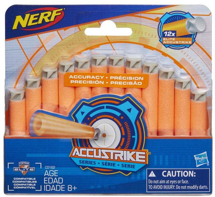 Hasbro - Nerf Accustrike 12 strzałek C0162