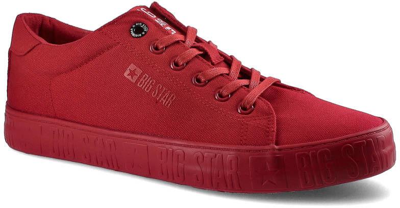 Trampki BIG STAR HH174065 Czerwony