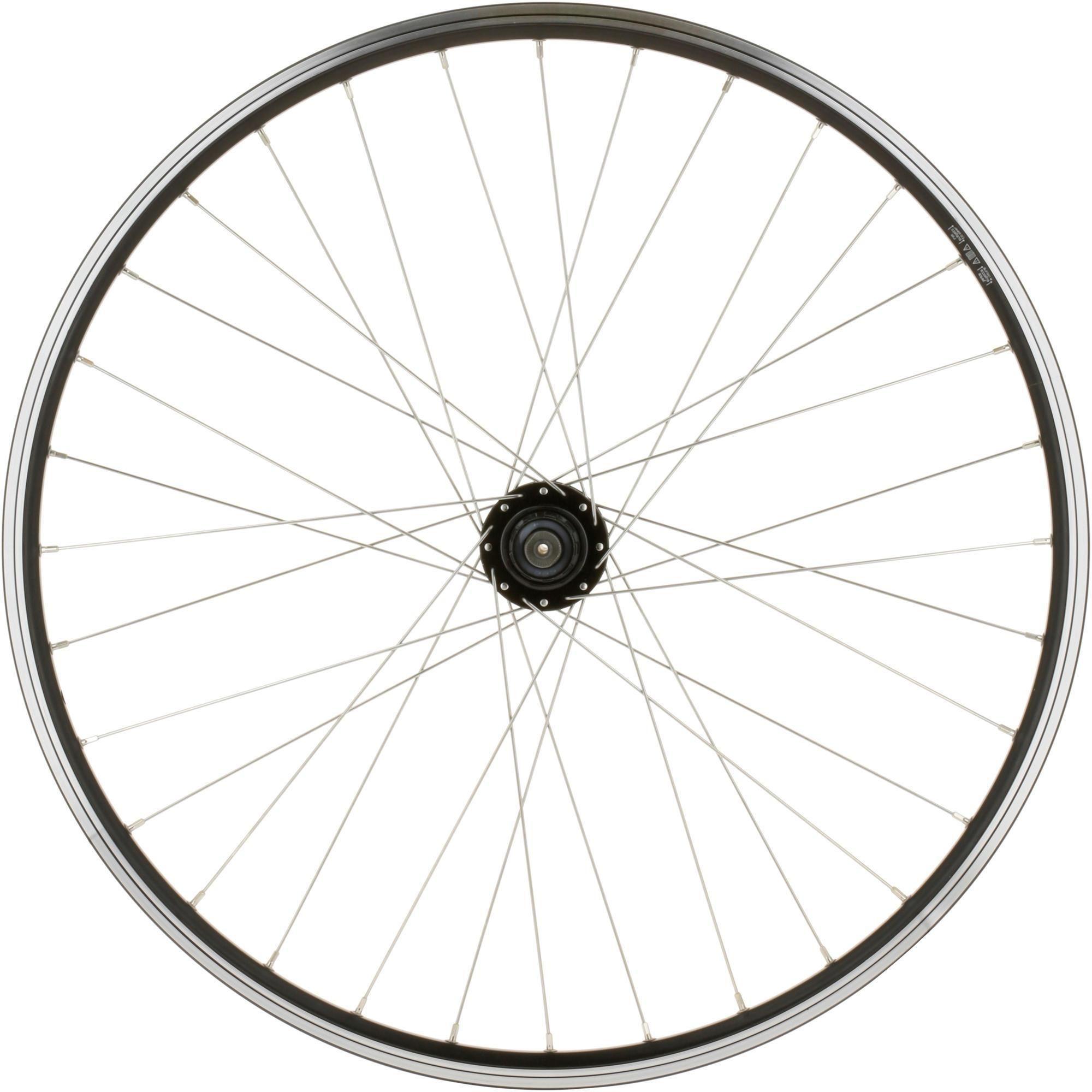 """Koło do roweru MTB Rockrider 26"""" tylne dwukomorowe do tarczy/V-brake i kasety QR"""