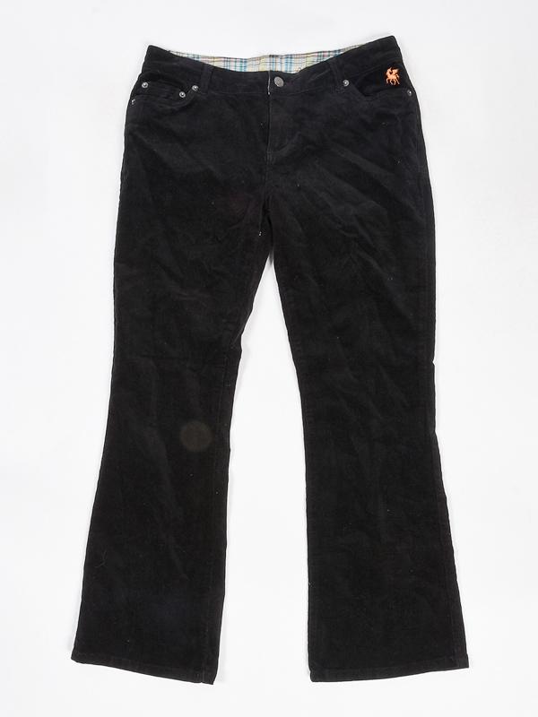 Mambo CHECK ME W2 spodnie lniane kobiety - 10