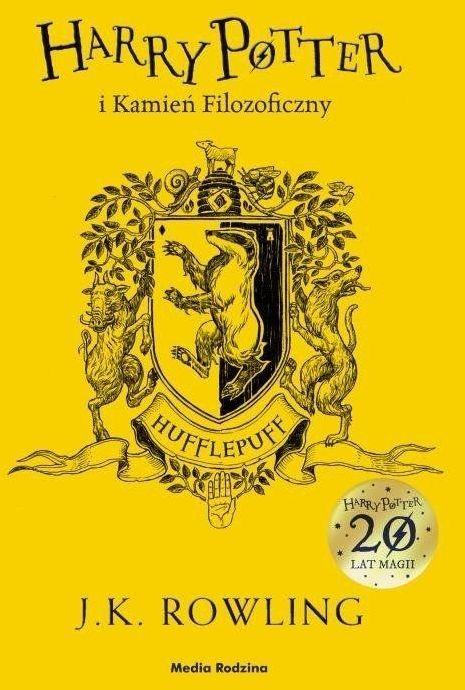 Harry Potter i kamień filozoficzny Hufflepuff - Joanne K. Rowling