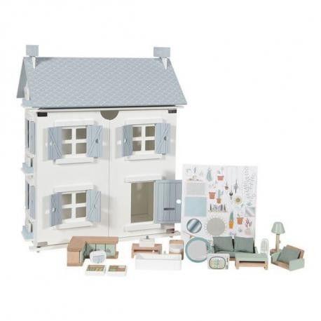 Little Dutch - Drewniany Domek dla Lalek z Akcesoriami Doll''s House