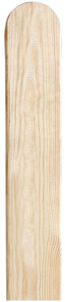 Sztacheta drewniana zaoblona 150 x 9 x 1.9 cm FLOORPOL