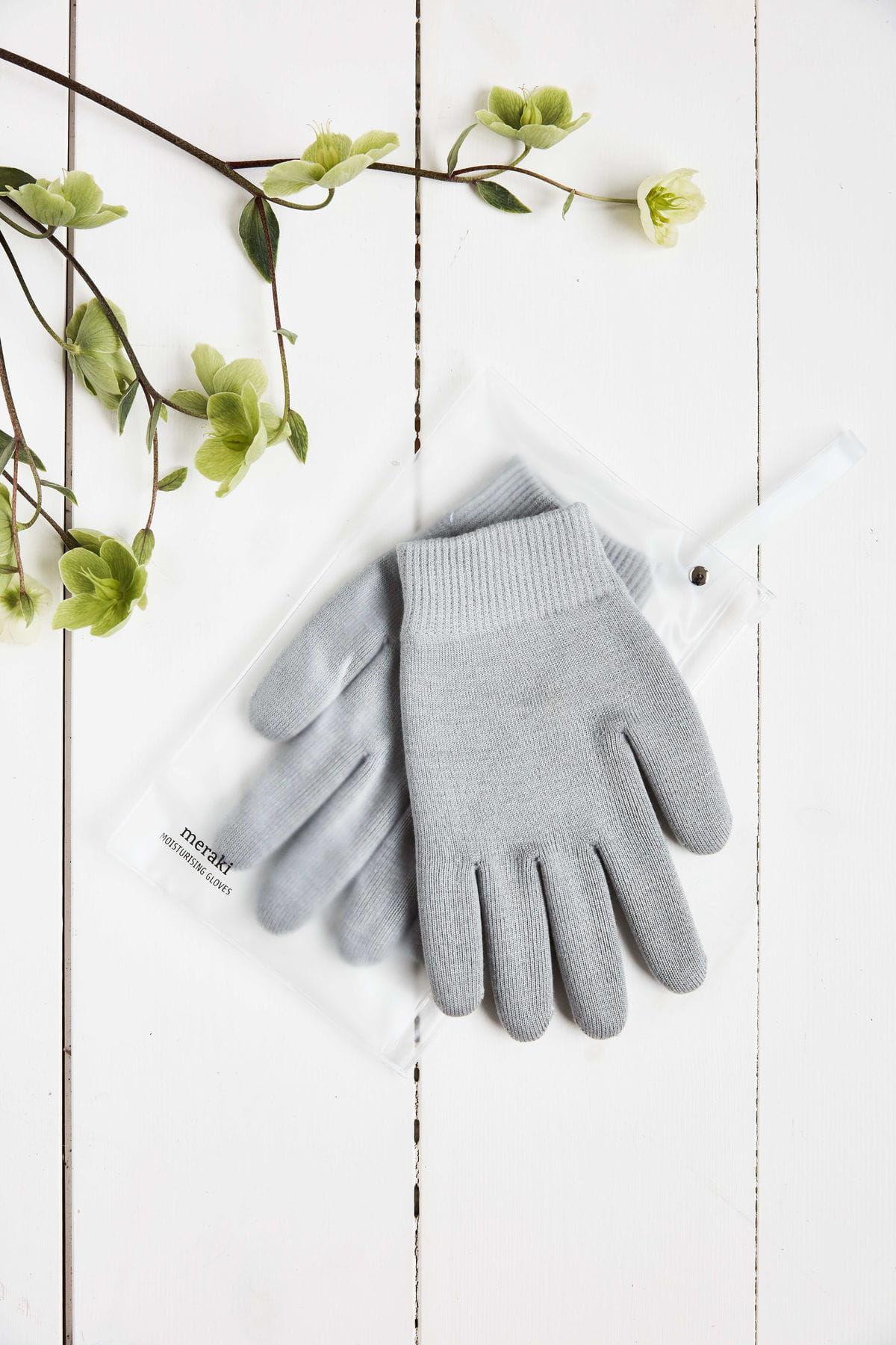 Rękawiczki Nawilżające Dłonie Domowe SPA MERAKI