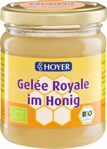 Miód z mleczkiem pszczelim BIO 250 g Hoyer