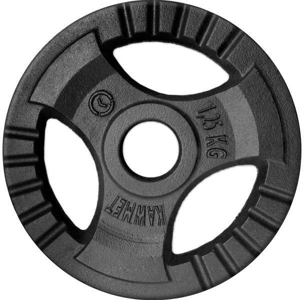 Obciążenie żeliwne do sztangi grafitowe (28,5 mm) 1,25 kg
