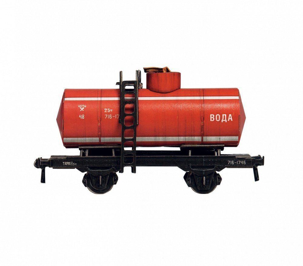 Keranova 386-03 Clever Paper Railway Collection biaxial spłuczka (woda), waga 1/87, wielokolorowa
