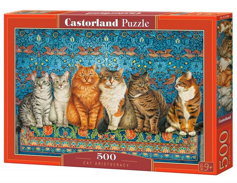 Puzzle 500 elementów Cat Aristocracy