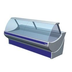 Lada chłodnicza z magazynem +2 +4  2600x1110x1306
