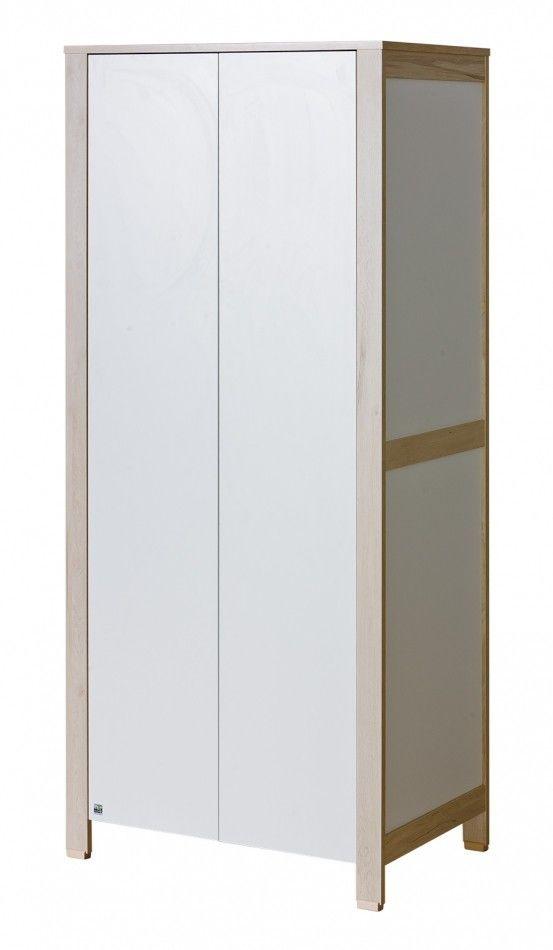 Szafa 2-drzwiowa Basic ATB biała szafa rabat od Firmy