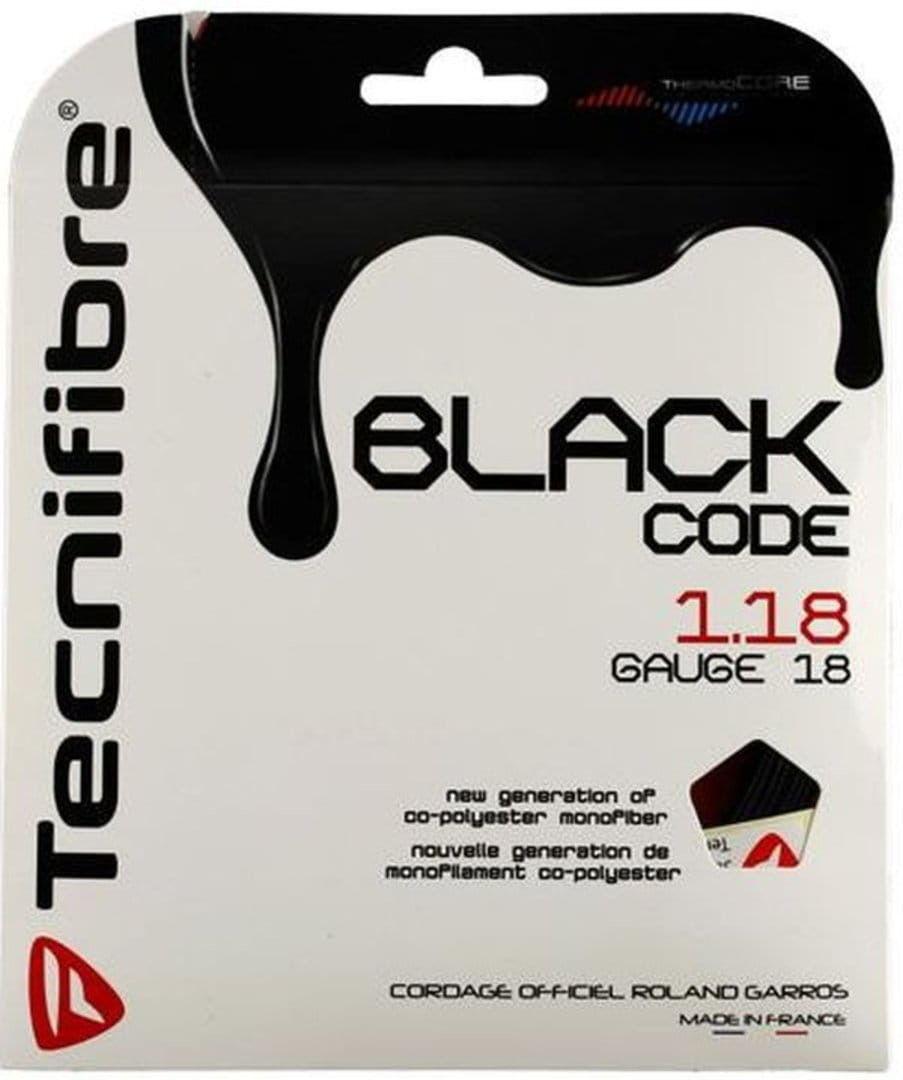 Tecnifibre Black Code (12m) - black