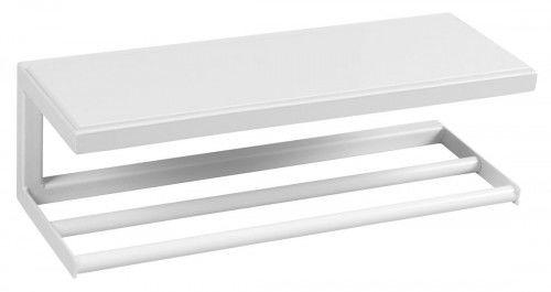 LOFT Półka ścienna 45x16cm,biały mat SKA, z MDF półką biała
