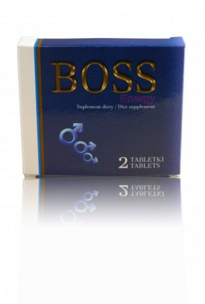Supl.diety-Boss Energy Ginseng 2 szt.