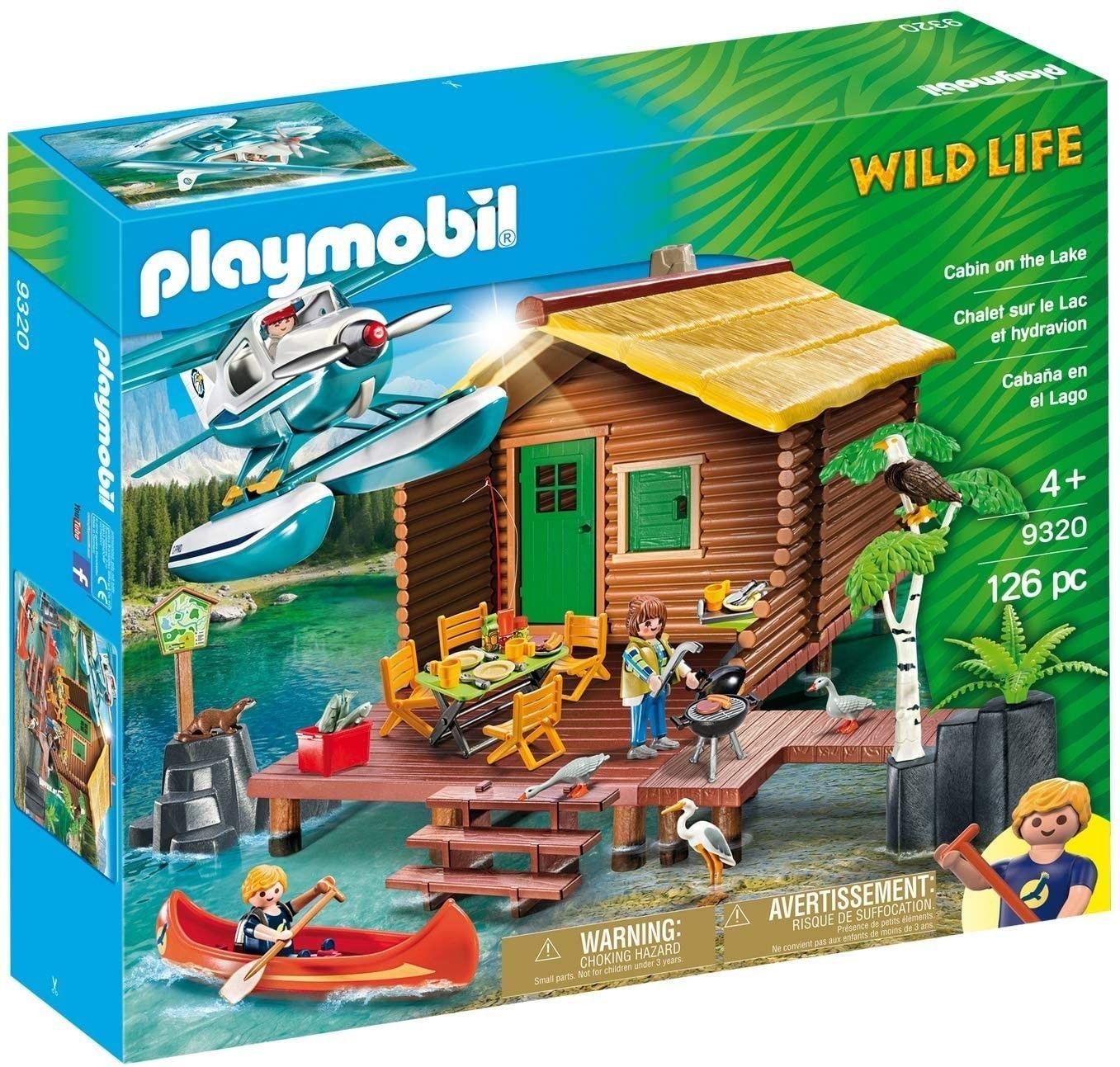Playmobil - Urlop w domku nad jeziorem 9320