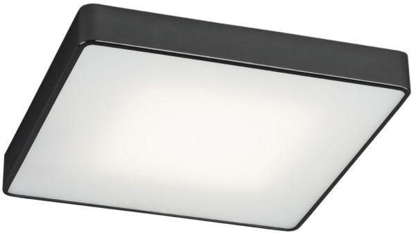 Plafon Ontario LED 3576 Argon nowoczesna oprawa w kolorze czarnym