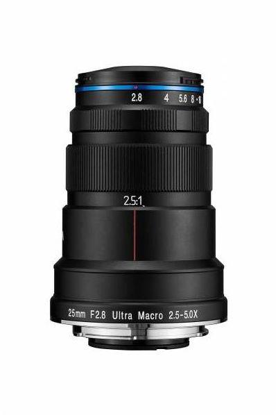 Laowa Venus Optics 25 mm f/2.8 2.5-5X Ultra Macro - obiektyw do Nikon F