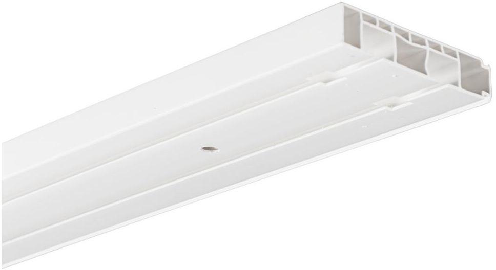 Szyna sufitowa 2-torowa 300 cm PVC INSPIRE