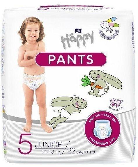 Bella Happy Pants Rozmiar 5, 22 pieluchomajtki