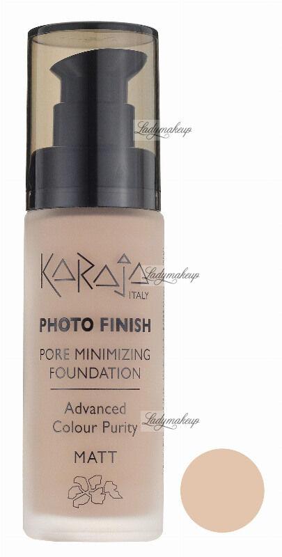 Karaja - PHOTO FINISH - PORE MINIMIZING FOUNDATION - Advanced Colour Purity - Podkład perfekcyjnie matujący - 106