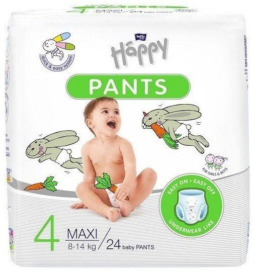 Bella Happy Pants Rozmiar 4, 24 pieluchomajtki