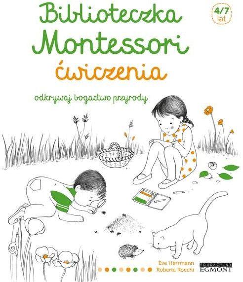 Biblioteczka Montessori, Ćwiczenia ZAKŁADKA DO KSIĄŻEK GRATIS DO KAŻDEGO ZAMÓWIENIA