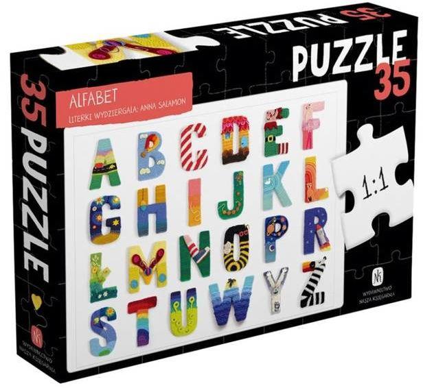 Puzzle 35 - Alfabet - Anna Salamon, Anna Salamon