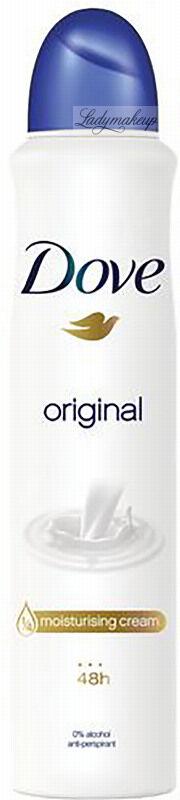 Dove - Original - 48h Anti-perspirant - Antyperspirant w aerozolu - 250 ml