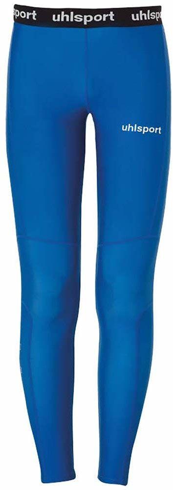 Uhlsport Distinction Pro długie legginsy dziecięce, uniseks niebieski niebieski 128