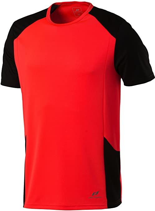 Pro Touch Cup męski T-shirt pomarańczowa Fiery Coral/Schwarz X-L