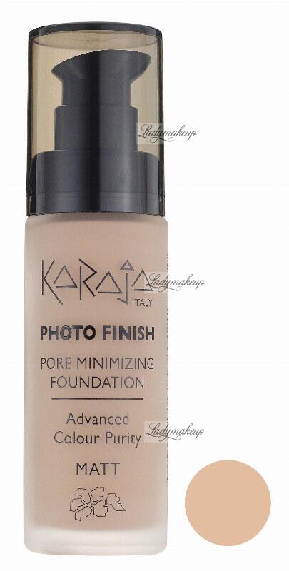 Karaja - PHOTO FINISH - PORE MINIMIZING FOUNDATION - Advanced Colour Purity - Podkład perfekcyjnie matujący - 107